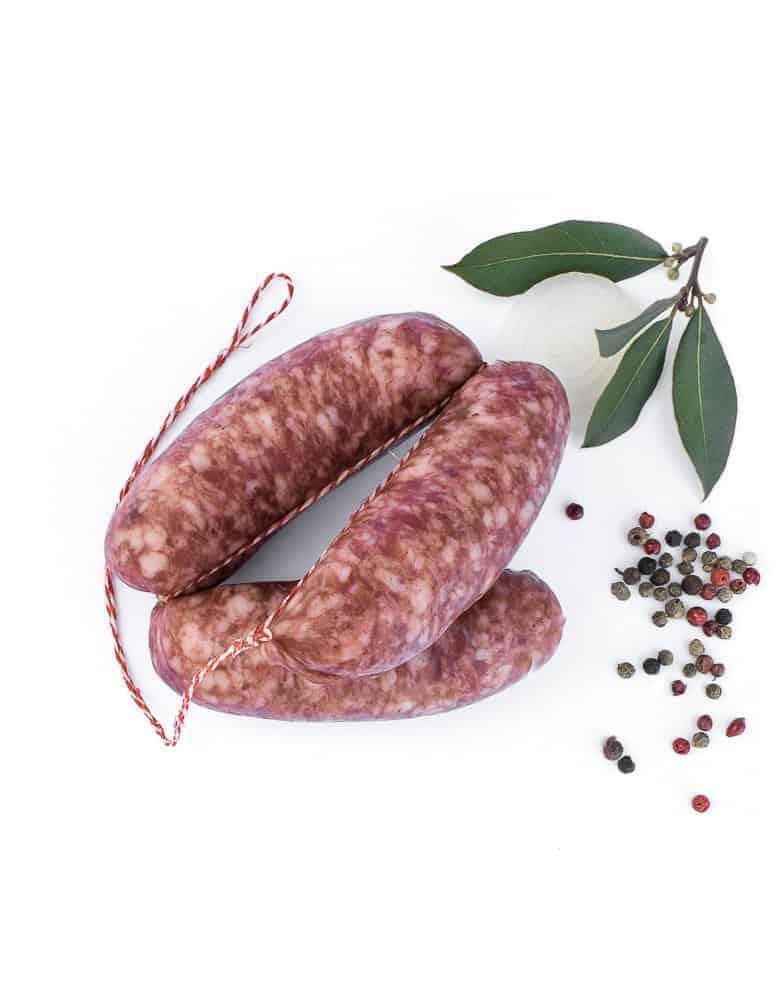 diot de savoie nature. Maison Alpin. Vente en direct de la salaison familiale. Charcuterie artisanale, saucisson, saucisse, diot, jambon, de Haute-Savoie & viande de qualité supérieure en ligne.