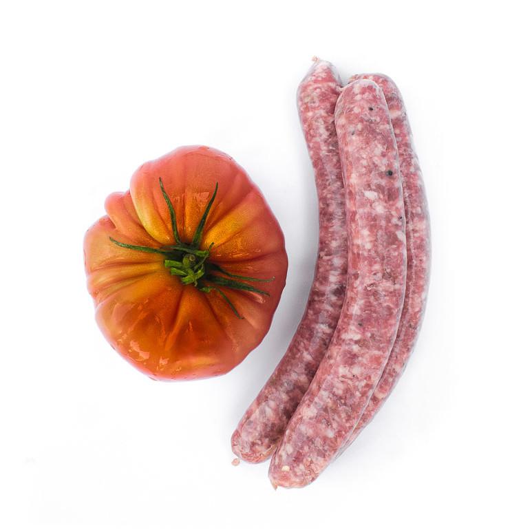 La sicilienne, saucisse au fenouil. Maison Alpin. Vente en direct de la salaison familiale. Charcuterie artisanale, saucisson, saucisse, diot, jambon, de Haute-Savoie & viande de qualité supérieure en ligne.