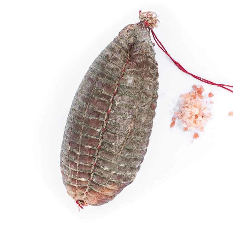 Noix de jambon nature. Maison Alpin. Vente en direct de la salaison familiale. Charcuterie artisanale, saucisson, saucisse, diot, jambon, de Haute-Savoie & viande de qualité supérieure en ligne.